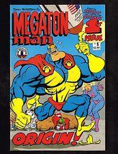 Megaton Man #1-3 ~ 3 issue series / Don Simpson's ~1989 (9.2) WH
