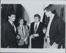 William Kim Zobrist, Bruce Taylor, Bret Ellis, Mark Linquist ORIGINAL PHOTO