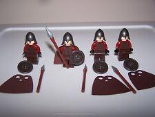 LEGO® LOTR minifigure ROHAN SPEAR helmet shield cape hobbit castle soldier lot