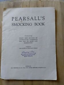 Pearsall's Smocking Book & Deighton's Smocking Transfers, Craft, Sewing,...