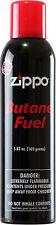 Zippo Premium Butane Fuel 5.82 oz. 165 Grams No clog burner valves