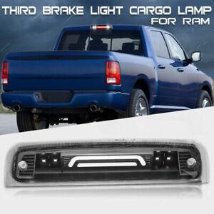 For 2009-2018 Dodge RAM 1500 2500 3500 LED Black 3rd Third Brake Cargo Light ST