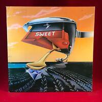 THE SWEET Off The Record 1977 UK Vinyl LP Gatefold Excellent Condition original
