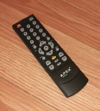 Genuine Apex Digital (LR03) Pre-Programmed TV Remote Control w/ Battery Cover