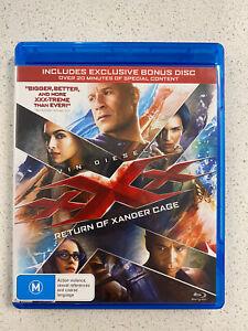 XXX - Return Of Xander Cage Blu Ray 2017 Samuel L. Jackson, Ruby Rose