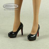 1/6 Scale Phicen, TBLeague, Vicky Secret Female Black Heel Shoes