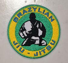 Brazylian Jiu-Jitsu Round Iron on Patch Aufnäher Parche brodé patche toppa