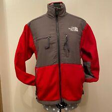Vintage - Kids red North Face jacket - Large boys - polartec