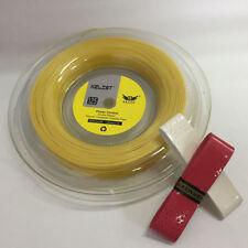 Buy Kelist Power Control Premium Reel 1.25mm Gold Tennis String Get Grips Free