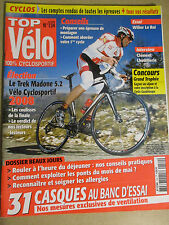 TOP VELO N°134: MAI 2008: TREK MADONE 5.2 - 31 CASQUES - WILLIER LE ROI -KEO FIT