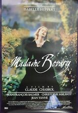 Madame Bovary Original Single Sided Movie Poster Isabelle Huppert 1991