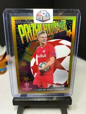 2019-20 Topps Finest Champions League ERLING HAALAND Prized Footballers GOLD /50
