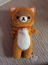 Rilakkuma Cat Neko M Size Plush 2014 San-X Japan