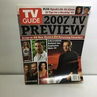 TV Guide January 8-14 2007 TV Preview Heroes, Lost, Prison Break, Dirt