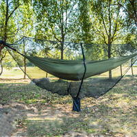 Outdoor Camping Mosquito Net Hammock Hanging Camping Bed Outdoor Sleeping LE