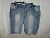 maurices cut offs womens jean shorts size 20