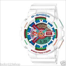 GA-110MC-7A White Casio Watch G-Shock 200M WR Analog Digital X-Large Resin New