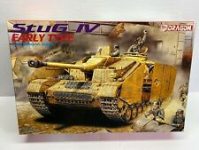 New ListingFb Dragon 1/35 Scale German Stug Iv Early Type Sealed Boxed Model Kit No Reserve