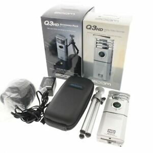 ZOOM Q3HD Accessory kit HANDY VIDEO CAMERA MICROPHONE RECORDER FAST SHIP