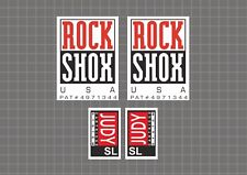 Rock Shox Judy SL 1997 Forks Decals Stickers Graphic Set Vinyl Logo Adhesive #2