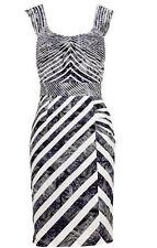 Jacqui E Work Stripes Dresses for Women