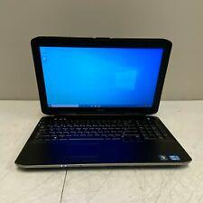 """Dell 15.6"""" Latitude E5530 Intel I7-3520m 2.90GHz 4GB RAM 320GB HDD Win 10 PRO"""