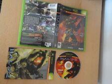 Videogiochi manuale inclusi Halo per Microsoft Xbox