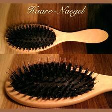 hellbraune Haarbürste für Extensions, Echthaar, Perückenbürste, Extensionbürste