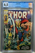 THOR #160 CGC 6.5 Silver Age STAN LEE story JACK KIRBY cover 1969 **NO RESERVE**