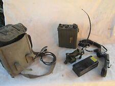 no ww2 radio militare FSE38 Tekade completa borsa e accessori