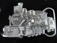 VTG 1981 Brass BELT BUCKLE RAILWAY RAILROAD TRAIN GREAT AMERICAN BUCKLE CO