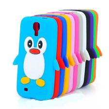 samsung galaxy s4 siv i9500 süß pinguin silikon weich handy hülle cover