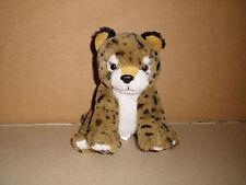 K&M Wild Republic Brown Cheetah Leopard Cub Plush Stuffed Animal 2010  7''