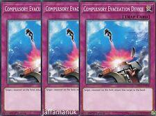 3 x Compulsory Evacuation Device - YS17-EN038 - Common  1st Edition