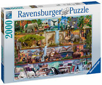 16652 Ravensburger Amazing Animal Kingdom Jigsaw Puzzle 2000 Pieces Age 7+