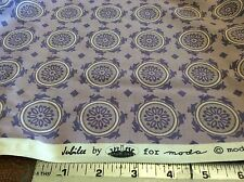 JUBILEE #2853-19 MAUVE MEDALLIONS BY BUNNY HILL DESIGNS FOR MODA- BY THE YARD