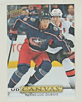 2019-20 Upper Deck UD CANVAS #C30 PIERRE-LUC DUBOIS Columbus Blue Jackets