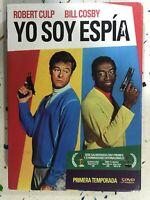 YO SOY ESPIA PRIMERA 1ª TEMPORADA SERIE TV 5 x DVD BILL COSPBY ESPAÑOL INGLES AM