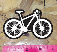 Black/White Mountain Bike Sticker Decal Graphic Bicycle Hardtail MTB 27.5 29r