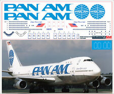 1/144 PAS-DECALS. ZVEZDA. Revell Boeing 747-200 PAN AM