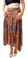 Free People Women's paradise Printed Skirt Multicolor Size 4 RRP £98 BCF66