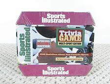sports illustrated trivia game multi sport football collector's edition NEW