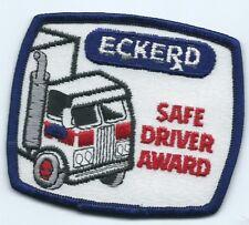 Eckerd Drug safe driver award patch 3 X 3-1/2 #726 sold to Cvs 2004