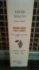 La Maison du Savon de Marseille Sweet Almond/Amande edt spray 100ml new with box