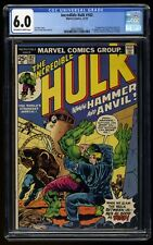Incredible Hulk (1968) #182 CGC FN 6.0 Off White to White 2nd Full Wolverine!