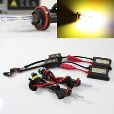 H11 3000K Yellow Slim AC Ballast Xenon HID Conversion Kit Headlights/Fog Lamps