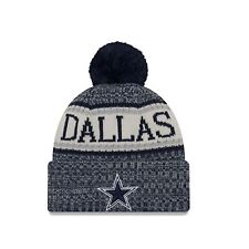 New Era NFL Sideline Bobble Knit Home Dallas Cowboys Beanie OTC OSFA c6496e17b