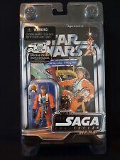 STAR WARS Vintage Saga Collection Luke Skywalker  X Wing Pilot 2007 Hasbro