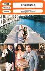 FICHE CINEMA FRANCE LE GUIGNOLO Jean-Paul Belmondo Réalisateur Georges Lautner