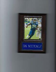 DK METCALF PLAQUE SEATTLE SEAHAWKS FOOTBALL NFL
